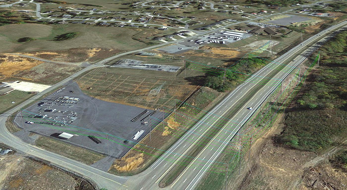 Holston Electric Cooperative Aerial Transmission Line Design